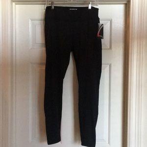 Marika  Tek Black Fleece Lined Leggings